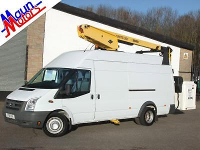 2011 Ford Transit T460 EL JUMBO TDCi, HGV Panel Van - CHERRY PICKER, Tower Wagon
