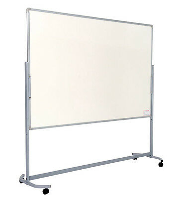 Mobile Double Sided Whiteboard -  Landscape - Magnetic or Non Magnetic