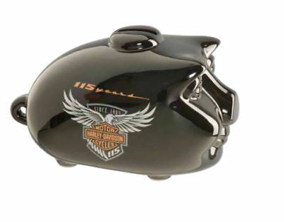 Harley Davidson 115th Anniversary Limited Edition Mini Hog Bank