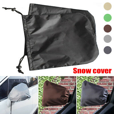 pair Auto Car Rear View Side Mirror Frost Guard Snow Ice Winter Waterproof Cover