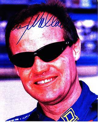 Kenny Wallace Signed Autograph 8X10 Photo Picture Image Nascar