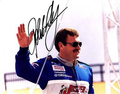 Robert Pressley Signed Autograph 8X10 Photo Picture Image Nascar
