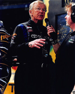 Joe Gibbs Signed Autograph 8X10 Photo Picture Image Nascar Racing