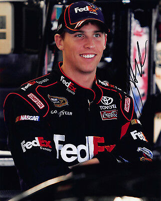 Denny Hamlin Signed Autograph 8X10 Photo Picture Image Nascar Racing