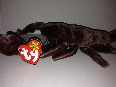 Ty Beanie Babies Stinger Scorpion 5Th Generation W/tags Excellent 9/29/1997