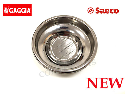 Gaggia Parts - Single Cup Filter Basket for Classic, New Baby, Coffee,Saeco Nina