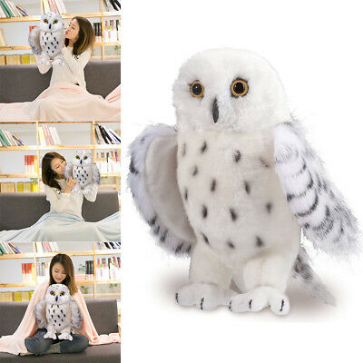 Cuddle Toys Legend Snowy Owl Stuffed Plush Animal Toys Kids Children Gifts GYTH
