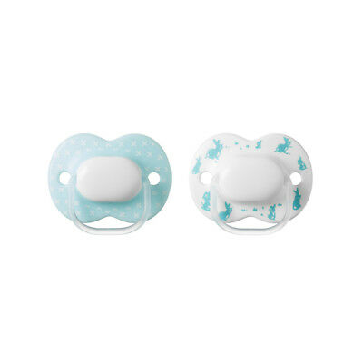 Tommee Tippee Closer to Nature Little London Soothers 0-6 months 2pk Rabbits