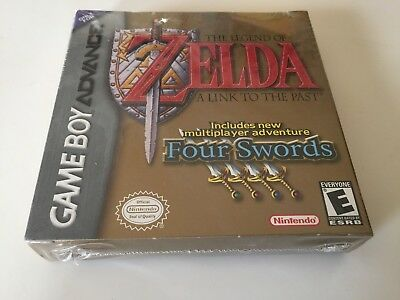 Legend of Zelda: A Link to the Past (Nintendo Game Boy Advance, 2002) NEW