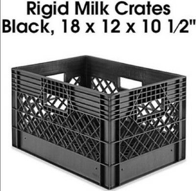 CHOICE OF COLOR  Plastic Storage Carrier Milk Crate - make an offer