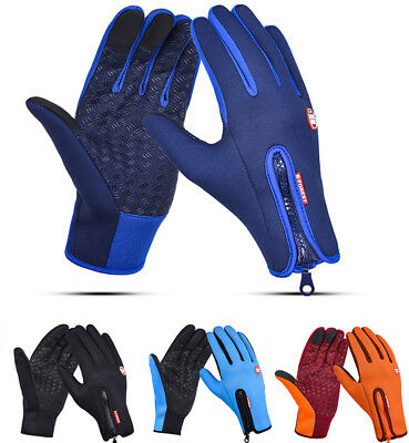 Winter Thermal Touch Screen Gloves Climbing Riding Driving Windproof Men Women