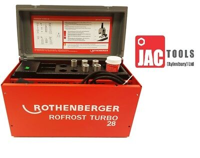 Rothenberger Rofrost Turbo 28 Electric Pipe Freezing Kit 15002699 8-28mm pipe