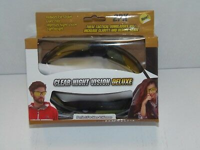 9db740c44b 2PK) CLEAR VISION DELUXE TACTICAL SUNGLASSES - AS SEEN ON TV ! (PO ...