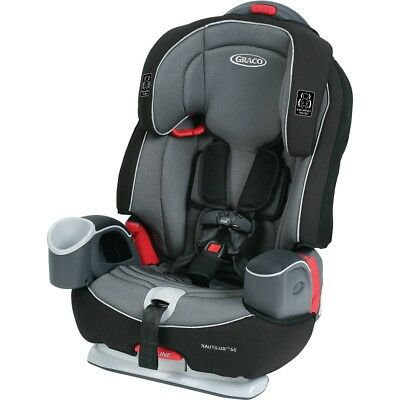 Graco Nautilus 63 3-In-1 Harness Booster Car Seat, Bravo