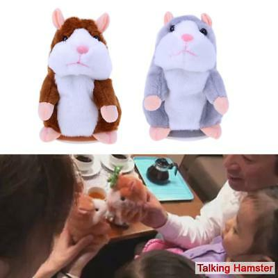 Talking Hamster Mouse Pet Plush Learn To Speak Electric Record Educational Toys