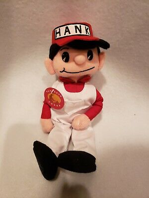 Hardware Hank Mascot United Series 1 Promotional Beanie Plush (new with tag)
