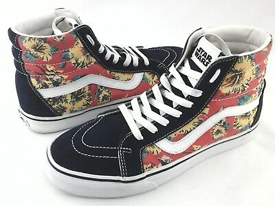 e1637b713822a3 VANS x Star Wars S8-Hi Sneakers Yoda Aloha Floral Shoes Men s US 9 Women s
