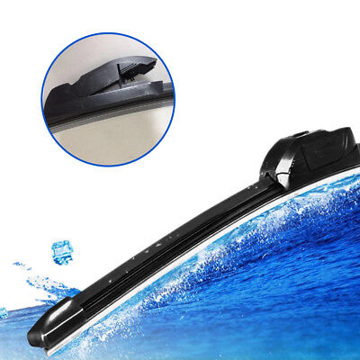 Unicersal 22 inch Rubber Car Windshield Wiper Blade Bracketless Hook For U-Type