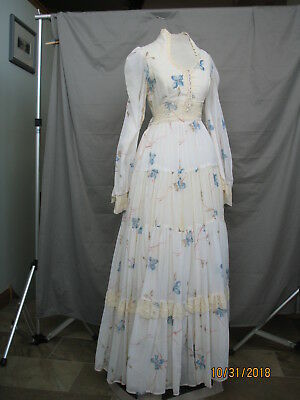 Victorian Dress Edwardian Civil War Style Gown