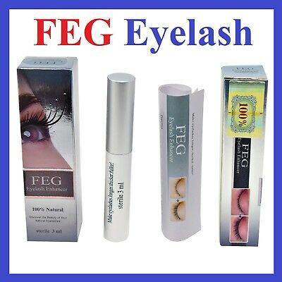 Original FEG Eyelash Enhancer Eyebrow Eye Lash Rapid Growth Serum Liquid 3ml