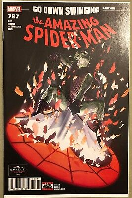 Amazing Spider-Man #797 - 1st Print - Alex Ross - Red Goblin - NM - See Pics