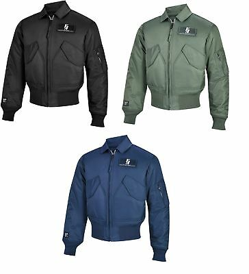 Valley Apparel Men's CWU 45/P Flight Jacket Military Manufacturer Made in the US