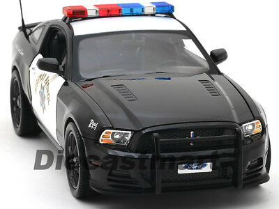 2013 Ford Mustang Boss 302 Autobahn Patrol 1:18 Auto Shelby Collectibles SC460