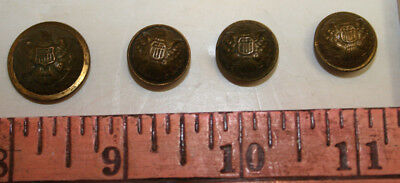 Indian Wars US Army staff officer military uniform coat button lot