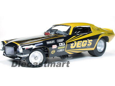 1970's JEG COUGHLIN CHEVROLET CAMARO NHRA FUNNY CAR 1:18 BY AUTOWORLD AW1160