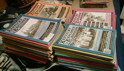 Lot of 50 Kentucky Explorer Magazines... various years`~ SEE PICS!!!