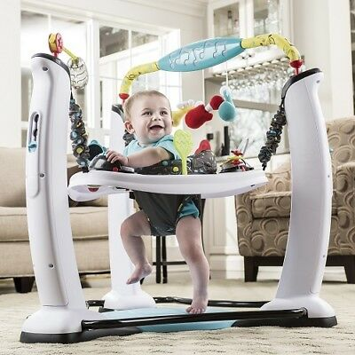 Baby Jumping Seat Swing Stand Saucer Jump Jumper Infant Kid Exerciser Chair Sit