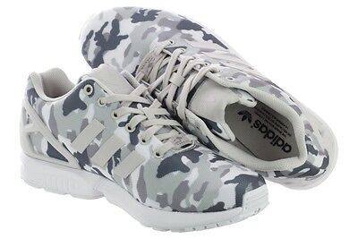 5ad9d18a14d1 ADIDAS ZX FLUX B24390 FTW White   Pearl Grey   Core MEN S RUNNING SHOES  SIZE 10