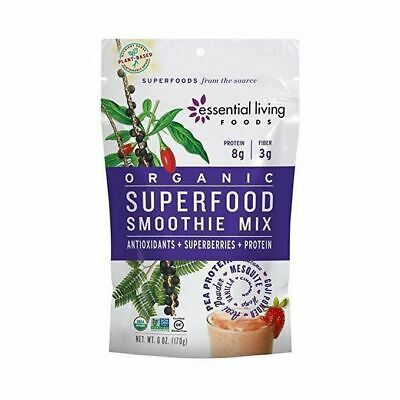 Essential Living Foods Smoothie Mix Organic Superfood - 6 oz - Pack of 6