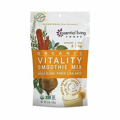 Essential Living Foods Smoothie MixOrganicMaca, Vtl - Pack of 6