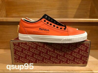 NASA x Vans Old Skool Space Voyager Firecracker Red Orange VN0A38G1UPA Size  8-13 9c65c3b73