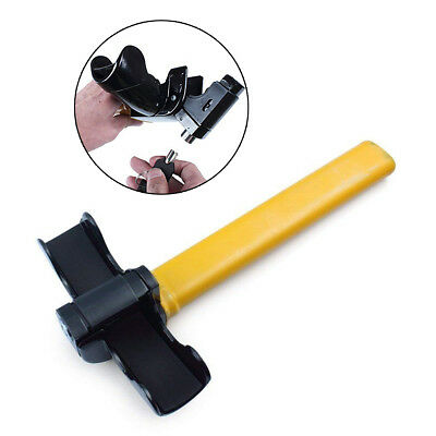 Universal T Style Anti-Theft Car Auto Security Rotary Steering Wheel Lock