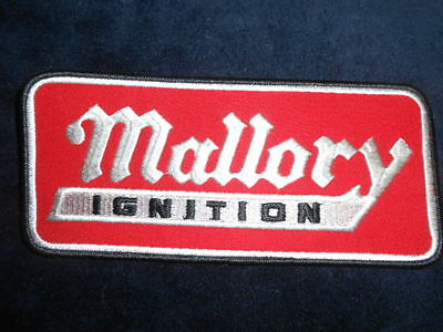 Mallory Ignition Patch - New!  Original Vintage 8 3/4 inches x 4 inches
