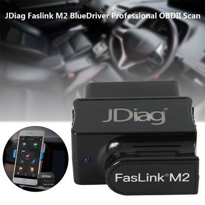 JDiag Faslink M2 BlueDriver Bluetooth OBDII Scan Tool for Android iPhone iPad US