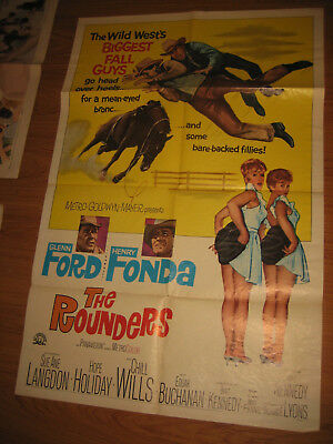 The Rounders Original 1sh Movie Poster