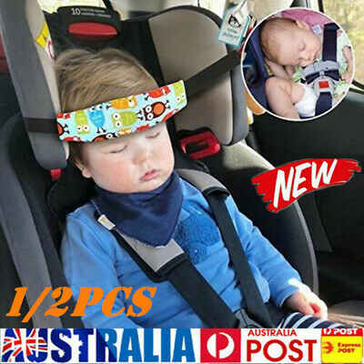 Baby Car Seat Headrest Sleeping Head Rest Support Kids Sleep Holder Belt Strap