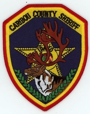 Caribou County Sheriff Idaho Id Patch Police Colorful