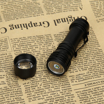 Super Bright 5000LM CREE Q5 AA/14500 3 Modes Zoomable LED Flashlight Torch
