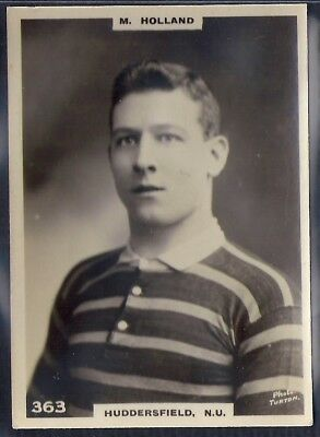 Pinnace Football (Lf Size Black Oval Back)-#0363- Rugby Huddersfield N.u Holland