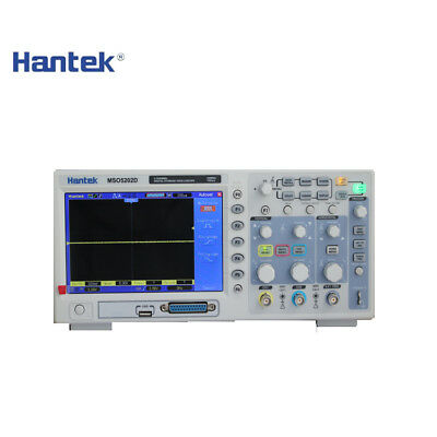 Hantek MSO5202D 200MHz 2Channels 1GSa/s Oscilloscope & 16Channels Logic Analyzer