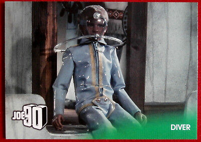 JOE 90 - DIVER - Card #08 - GERRY ANDERSON COLLECTION - Unstoppable 2017