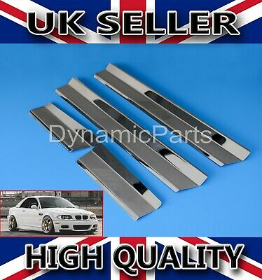 Bmw 3 Series E46 Chrome Inner Door Sill Covers Protector (1998-2006)
