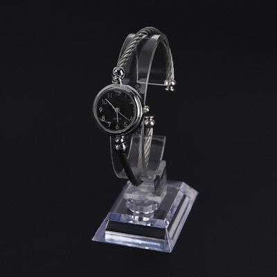 wrist watch display rack holder sale show case stand tool clear plastic ZJHN