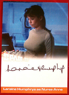 SPACE 1999 - LARAINE HUMPHRYS as Nurse Anne - AUTOGRAPH CARD - Unstoppable Cards