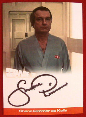 SPACE 1999 - SHANE RIMMER as Kelly- AUTOGRAPH CARD - Unstoppable Cards 2018