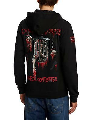 Cannibal Corpse - Caged Contorted Hoodie/Hoody NEW